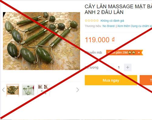 Cẩn thận với cây lăn ngoài thị trường